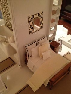 bedding and doll house ideas. Item has been sold on Etsy