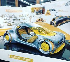 #Smart BA Thesis project by Mattia Lusci @hs_pforzheim #cardesign #Pforzheim