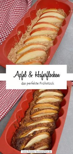 Apfel und Haferflocken – das perfekte Frühstück  #Apfel #Apfelbrot #Haferflockenbrot Apple Cinnamon Bread, Apple Bread, Cinnamon Apples, Paleo Recipes, Low Carb Recipes, Bread Recipes, Avocado Dessert, Dieta Paleo, Recipes