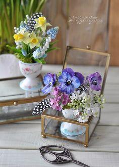 Весенние цветы ручной работы. / Рукоделие