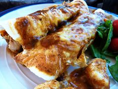 Enchiladas with Homemade Enchilada Sauce