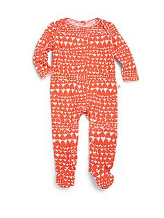 Stella McCartney Kids - Infant's Heart-Print Footie - Saks.com