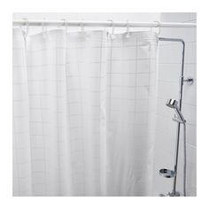 GRÖNSKA Shower curtain  - IKEA