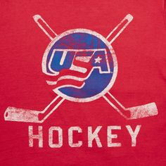 Shop the latest styles of Graphic Tees for Men at American Eagle. Find your favorite men's retro, pop culture and music shirts in a variety of styles including short and long sleeve. Team Usa Hockey, Ice Hockey Teams, Hockey Mom, Hockey Logos, Hockey Quotes, Sports Teams, Hockey Decor, Man Page, Hockey Season