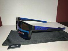 0d427c6ec4324 Oakley Mainlink Sunglasses Matte Black Blue Frame Prizm Blue Lens  fashion   clothing  shoes  accessories  mensaccessories   sunglassessunglassesaccessories ...