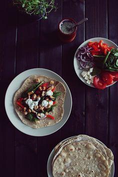 Domowa tortilla pełnoziarnista