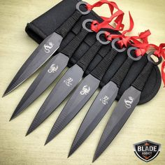 SET Naruto Kunai Throwing Knives Ninja Knife Dagger w/Sheath Combat Armas Ninja, Collector Knives, Knife Throwing, Trench Knife, Ninja Weapons, Buck Knives, Combat Knives, Best Pocket Knife, Pocket Knives