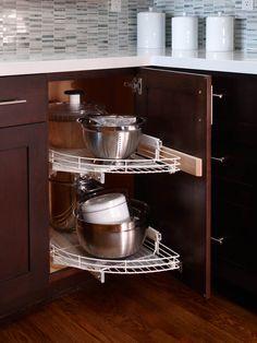 Kitchen Corner Storage Design, Pictures, Remodel, Decor and Ideas - page 3