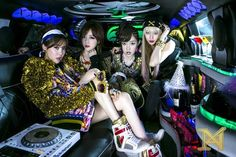 T-ara N4 confess they were nervous and scared about their comeback