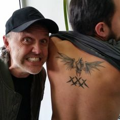 metallica From the meet and greet in Mexico! Metallica Tattoo, Rock And Roll, Body Art, Mexico City, Instagram Posts, March, Meet, Ideas, Tatoo