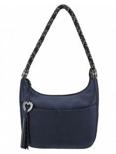 Brighton Andie Soft Shoulder Bag Sapphire 95