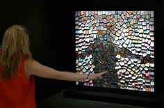 """""""Trash Mirror No. 3"""" (2011) by Daniel Rozin"""