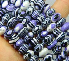 5x8mm Multicolor Turkey Turquoise Gemstones Abacus Loose Beads 15/'/'