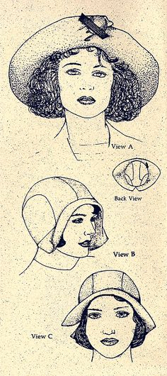 WOMANS HAT PATTERNS 2