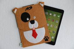 GP Animal Family, Cute Dog Felt iPad Mini Case, iPad Mini Cover, iPad Mini Sleeve
