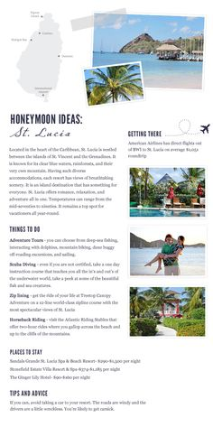 St. Lucia - Honeymoon & Travel Destinations
