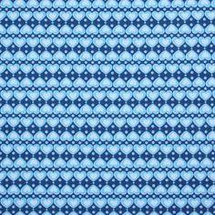 Kinderstoffen Jersey - Hartjes Met Stip Blauw