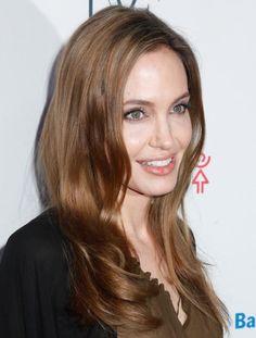 Best brunettes: brown hair colours - Angelina Jolie - goodtoknow