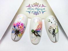 Autumn Nails, Spring Nails, Summer Nails, Claw Nails, Gel Nails, Acrylic Nails, Flower Nail Designs, Nail Art Designs, Nail Ink