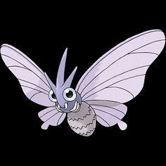 "049-Venomoth, poison moth Pokemon. Type-bug/poison. Ability- shield dust or tinted lens, wonder skin, hidden ability. Height-4'11"". Weight-27.6 lbs."