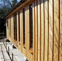 vertical wooden cladding exterior - Google Search More