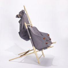 The Nordic Nomad Chair by Bjarke Frederiksen | Gessato Blog