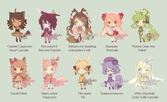 Dessert adopts #2 [Closed] by KokoTensho.deviantart.com on @deviantART