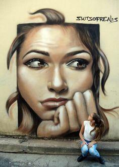 skitsofrenis  #streetart #transform #memories