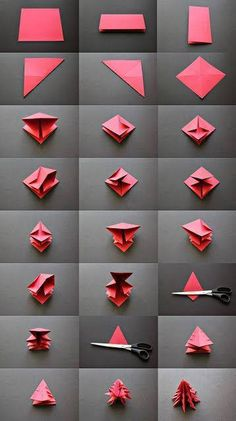 Origami navideño = )