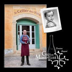 Le Domaine Guizard et son vigneron chez le caviste à Montpellier