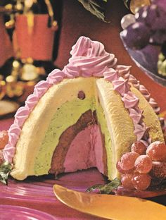Spumone, 1960s Retro Recipes, Vintage Recipes, Pretty Cakes, Cute Cakes, Retro Food, Sweet Cakes, Cute Food, No Bake Desserts, Organic Recipes