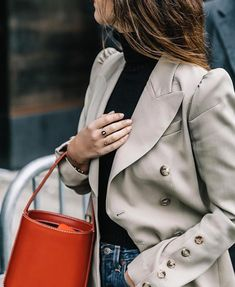 feminine fitted blazer. I love everything about this one.