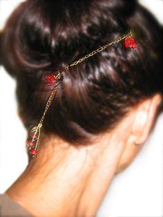 Haarschmuck Bronze von ♡katis♡ auf DaWanda.com