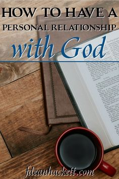 After salvation, a new Christian must begin building a personal relationship with God. Here is how you can have a personal relationship with God and why. Prayers and how to pray Christian Living, Christian Faith, Beautiful Words, Life Quotes Love, Personal Relationship, Christian Inspiration, Faith In God, Back Home, Cool Words