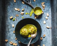 Pistachio Cardamom Coconut: A Vegan Ice Cream Recipe Pistachio Ice Cream, Coconut Ice Cream, Vegan Ice Cream, Coconut Milk, Ice Cream At Home, Make Ice Cream, Nice Cream, Kimchi, Sorbet
