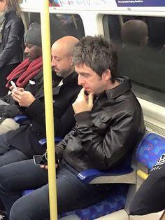 Noelgallagher on the tube (massive)
