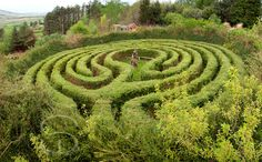 Living Labyrinth at Hagal Farm in West Cork, Ireland