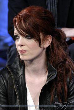 Shirley Manson, love the hair colour!
