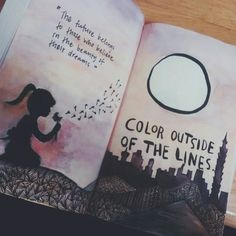 Colour outside of the lines