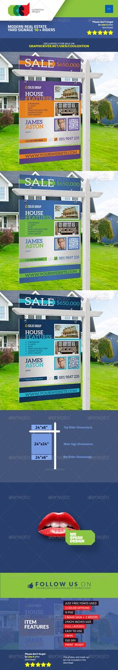 11 Best Real Estate Yard Signs Images