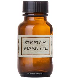 Natural stretch mark massage oil and scrub