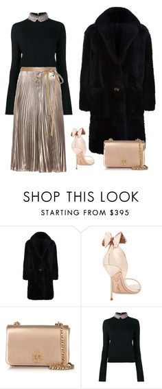 """""""Untitled #593"""" by jovana-p-com ❤ liked on Polyvore featuring Helmut Lang, Sophia Webster, Tory Burch, Marni and Valentino"""
