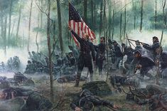 Little Round Top Significance - The History Junkie James Longstreet, Gettysburg Battlefield, Union Army, Near Future, Round Top, Troops, War, History, Painting