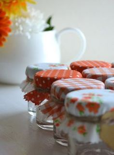 sweet favor idea #orange