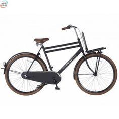 """Popal Urban Matt Black 3 Gir - 28"""" - 57 Cm - Herresykkel - Dutch Bike kr 5 920,00"""