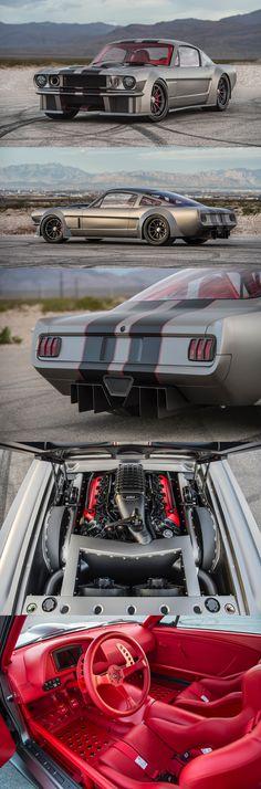 1965 Ford Mustang by Timeless Kustoms California - Auto 2019 Ford Mustang 1965, Mustang Fastback, Mustang Cars, Ford Mustangs, Hot Rods, Us Cars, Race Cars, Carros Lamborghini, Classic Mustang