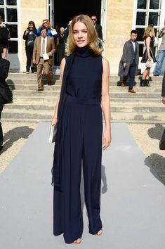 Natalia Vodianova- Christian Dior show @ Paris Fashion Week Spring/Summer 2014.  (27 September 2013)