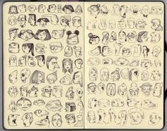 MOLESKINE by Melany Altuna, via Behance face
