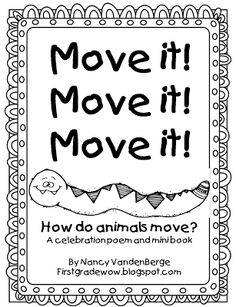 FREE Mini-Unit on How Animals Move and other cute animal homes ideas!  First Grade Wow: Move it! Move it! Move it!