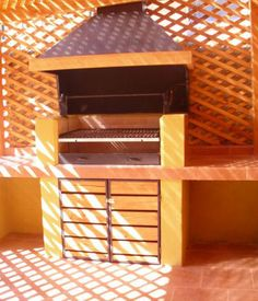 Construcciones REMS Ideas Para, Furniture, Home Decor, Closet, Fire Pit Grill, Wooden Decks, Wood Cabins, Patio Design, Sheds
